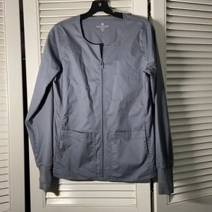 Med couture scrub jacket small